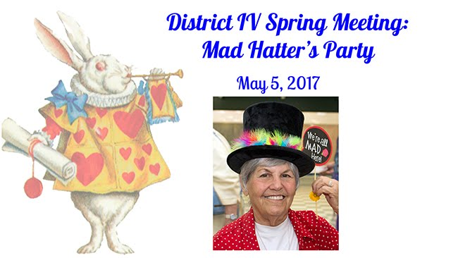 Mad Hatter's District IV Spring 2017 Meeting -- Officers
