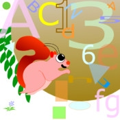 Squirrel Letters and Numbers