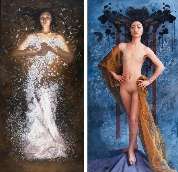 fantasy figurative paintings