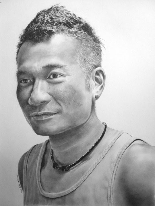 photo quality portrait drawing