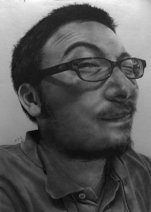 amazing pencil portrait sketch