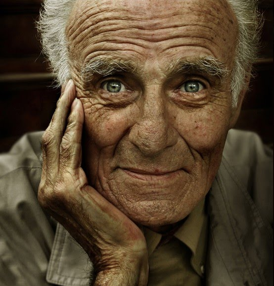 portrait photo of old man