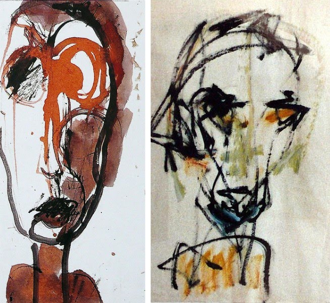 portrait paintings by abstract artist