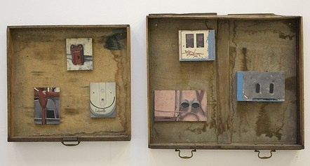 assemblages by artist fiona long