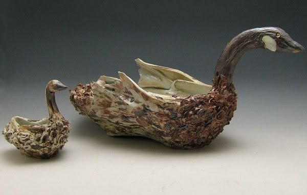 beautiful ceramic sculptures by artist sara lynch