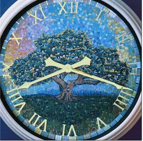clock tree mosaic