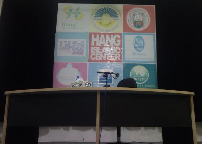 Auditorium radio hang 106 fm