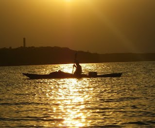 Sunse Kayaking photo by David Greene