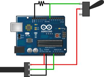 wiring and coding arduino
