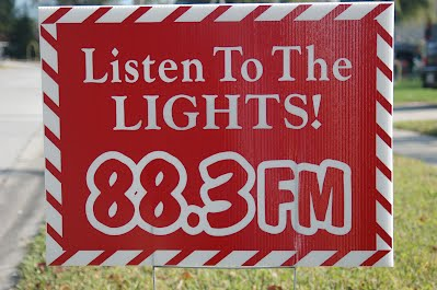 one of several signs kimpton farms christmas radio posted in the neighborhood photo 2007 terry l krueger - Christmas Radio Station Fm