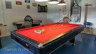 Games Room Vacation Rental Villa Disney World Orlando Florida house by the mouse