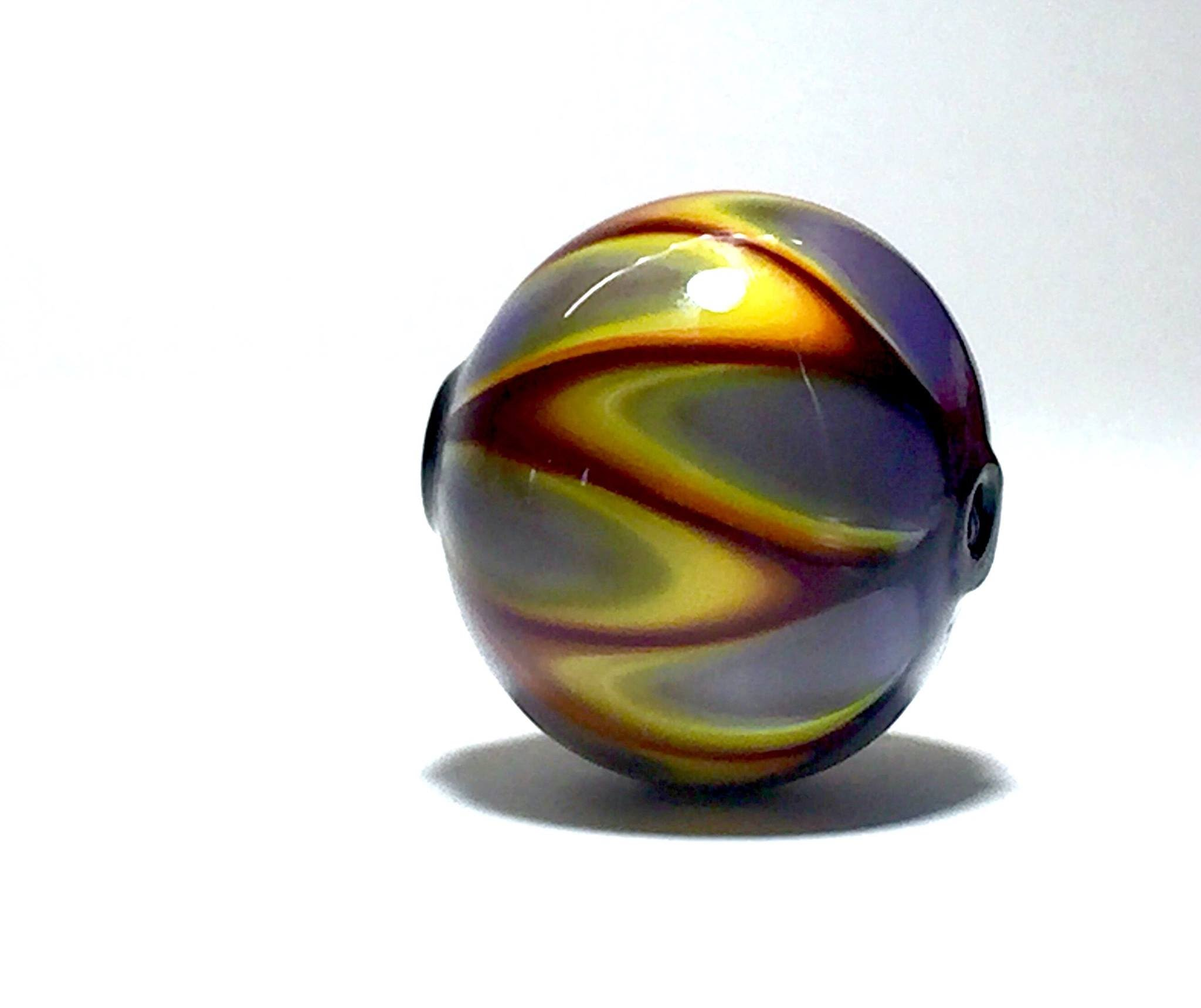 Sample decorated blown bead