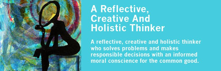 3. A Reflective, Creative, and Holistic Thinker - Following Christ the  Teacher