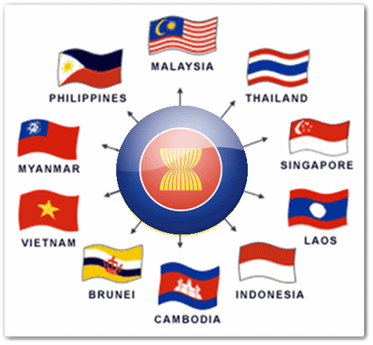 Member states of the Association of Southeast Asian Nations