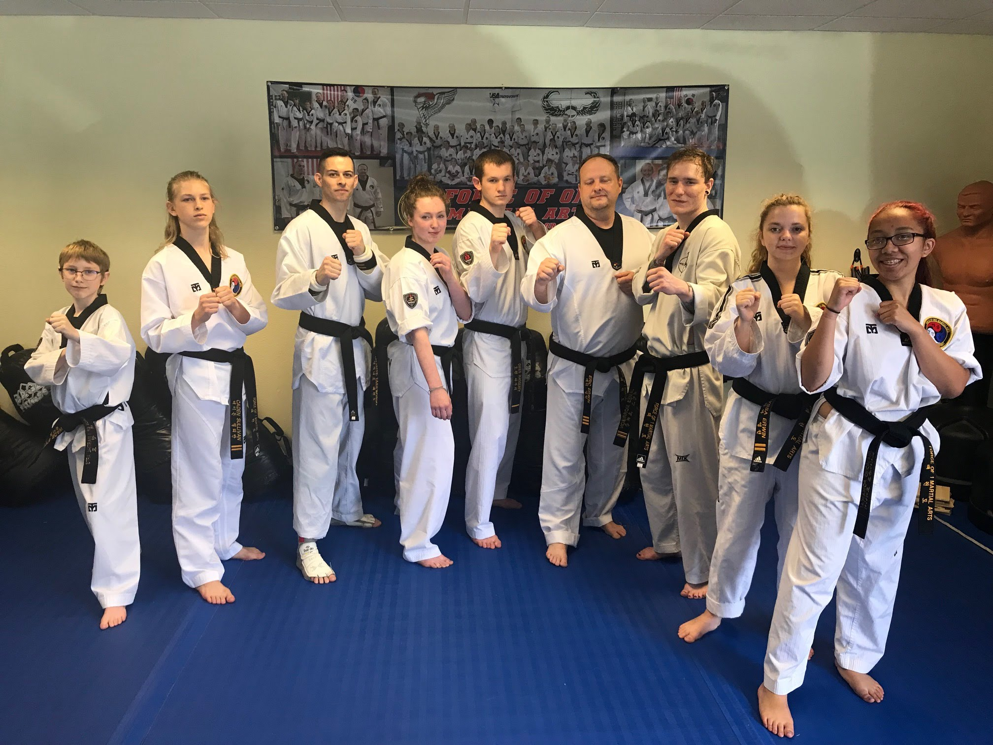 Black Belts June 2018