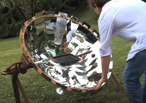 COOKUP200 Portable Solar Oven (Image courtesy iD Cook)