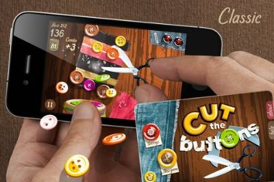 alocado juego para iphone cut the buttons Alocado juego para iPhone, Cut the Buttons