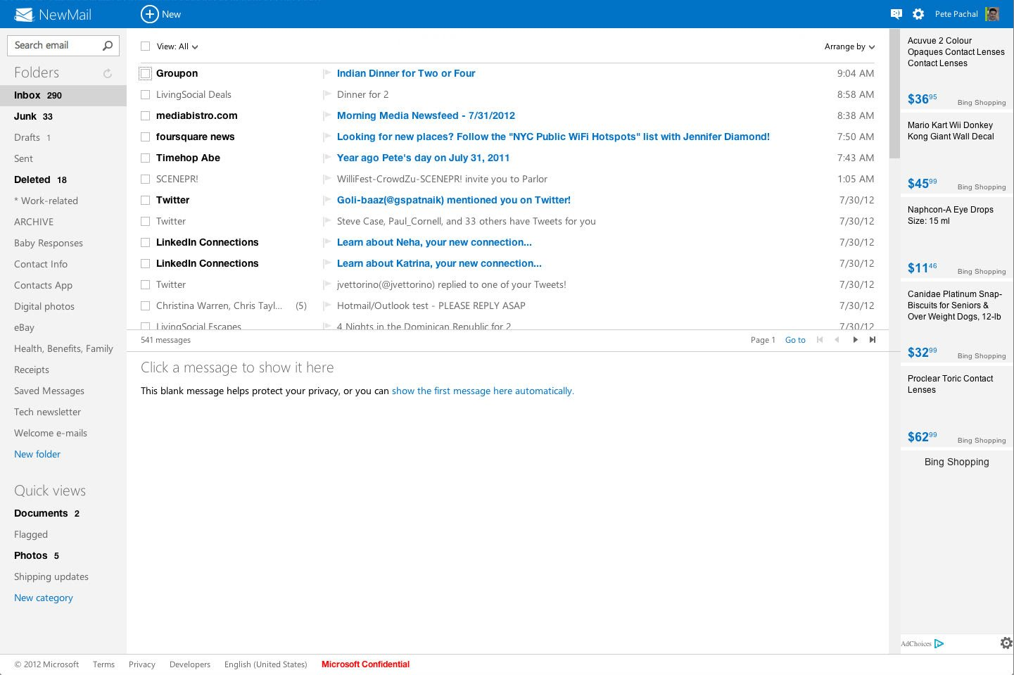 outlook hotmail Hotmail se transforma en Outlook