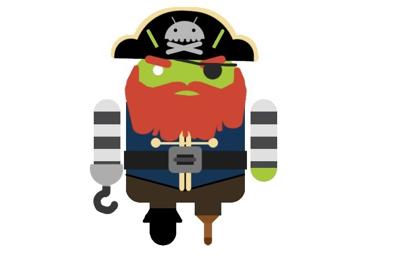 android pirata Android es amigable con la piratería, dice Matt Gemmell