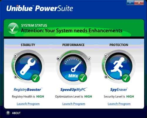 29 Acelerar Windows con Uniblue Powersuite