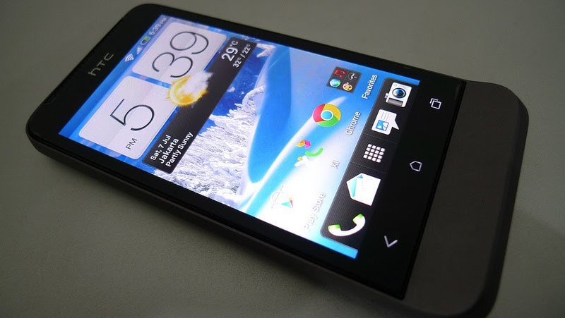 HTC one V sin Android Jelly Bean