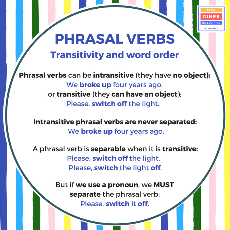 Separable And Inseparable Phrasal Verbs List Ebook Download