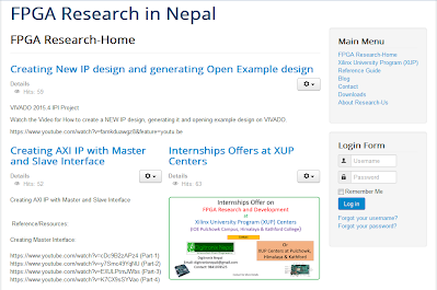 FPGA Research in Nepal