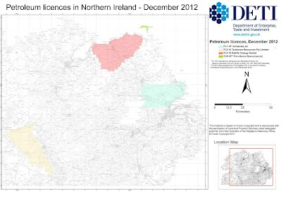 Petroleum Licenses in Northern Ireland - Dec 2011 (DETI)
