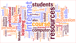 Wordle about coursework