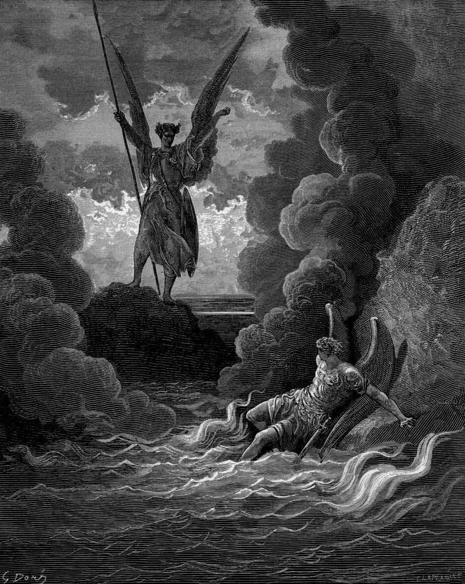 frankenstein vs paradise lost 'here the devils are no longer fall'n, but merely fallen' andrew fuhrmann on a  new abridgement of paradise lost.