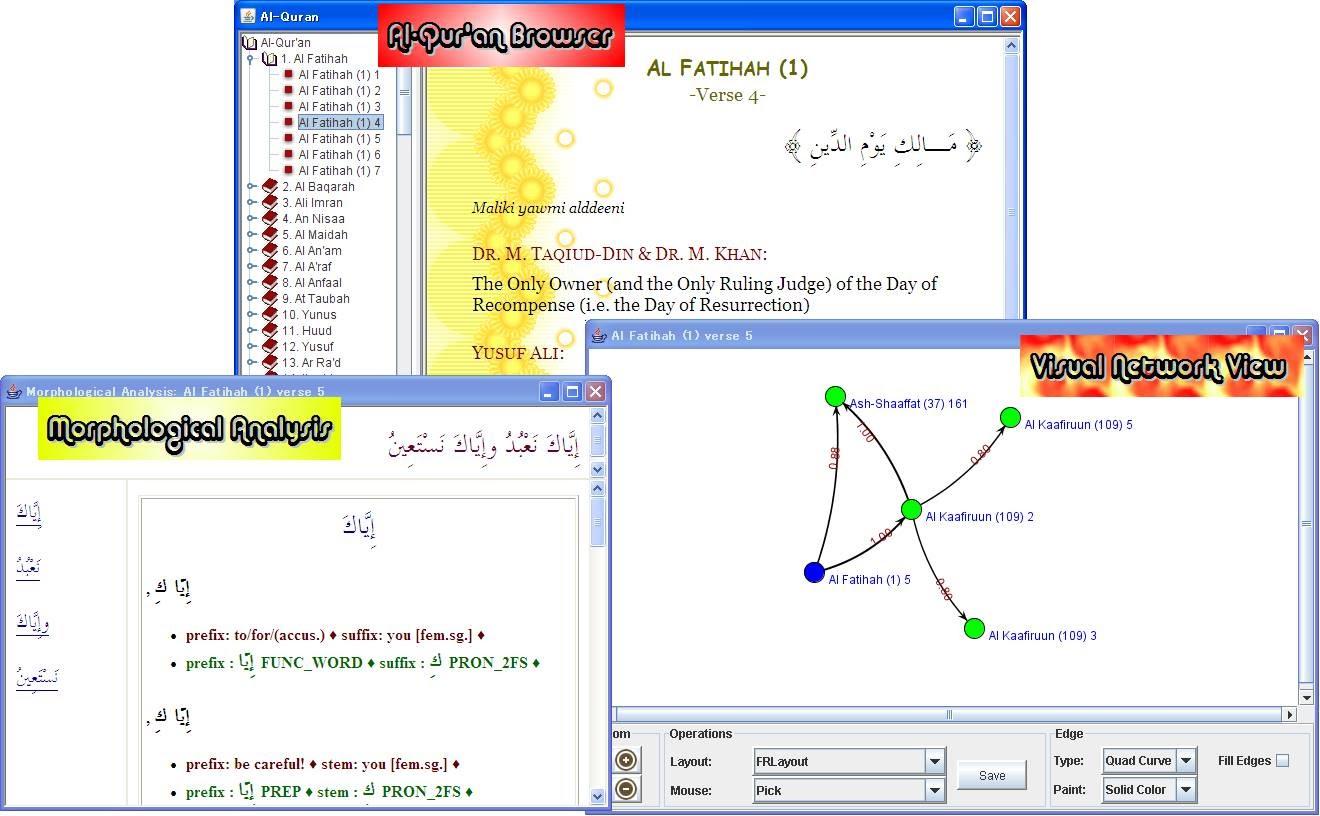 Holy Quran Explorer
