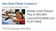 phone bill casinos