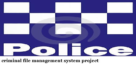 crime file management system project