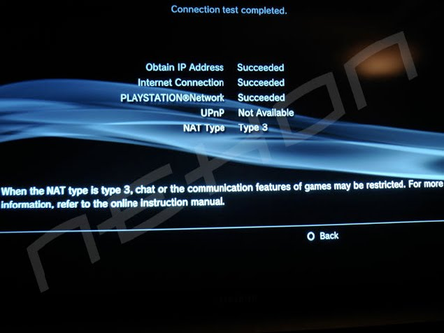 How to change from 'NAT type 3' to 'NAT type 2' - Free PS3