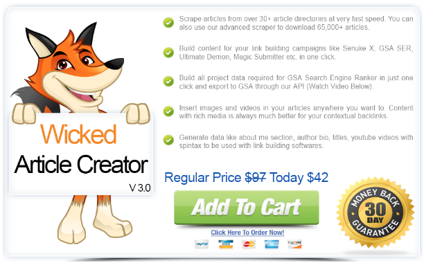 GET] Wicked Article Creator Free Download