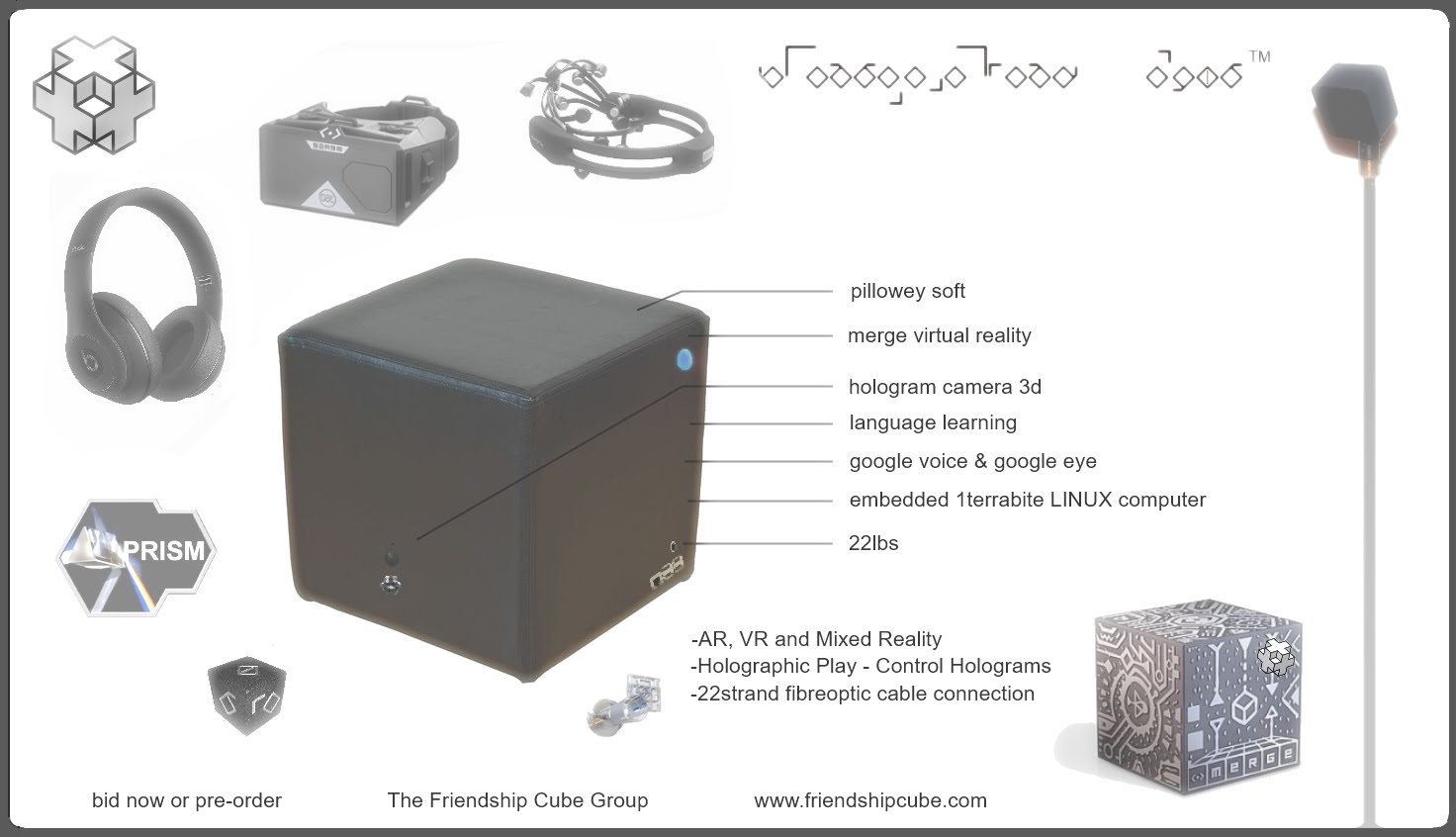 friendshipcube product and trademark