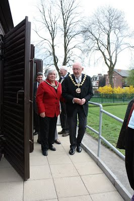 The Mayor attends the opening