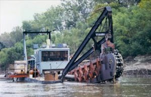 Sand and Gravel Dredging - Friends of the Kaw