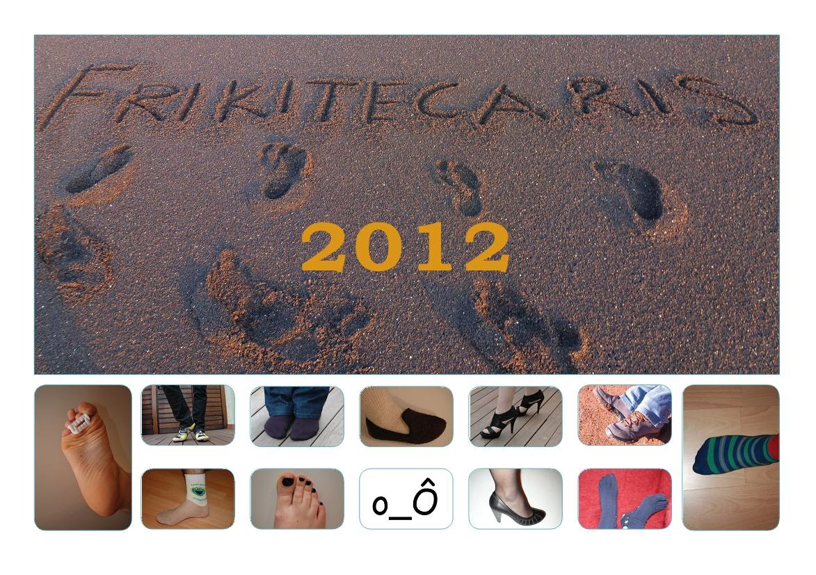 Calendari Frikitecaris 2012
