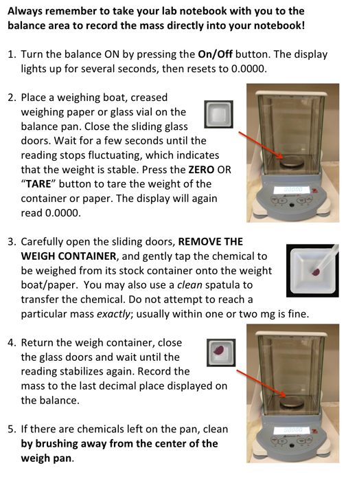 weighing on an analytical balance & distillation essay Lesson 2 lab: weighing on an analytical balance & distillation part 1 begin by viewing the following thinkwell video 1518 cia demonstration: weighing on an analytical balance after you watch the above video, answer the questions below in sufficient detail: (a) (2 pts) what are the features of an electronic balanceinclude all of those discussed in the video.