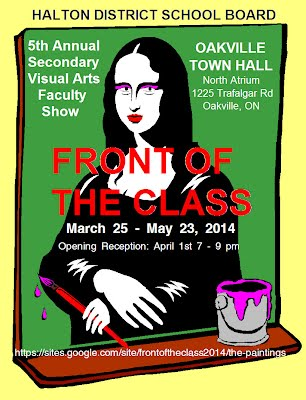 Front of the Class 2014 poster