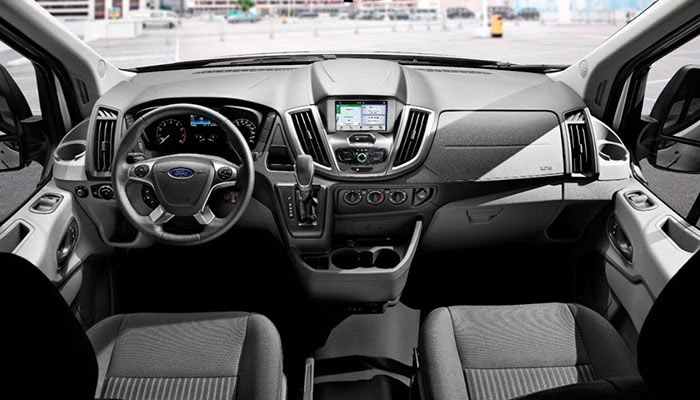 Ford Transit Interior >> Ford Transit Maximizes The Profit Of Small Businesses Ford