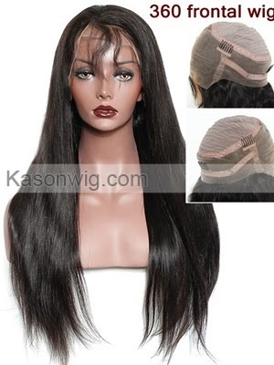 360 Lace Frontal Wigs - Full Lace Human Hair