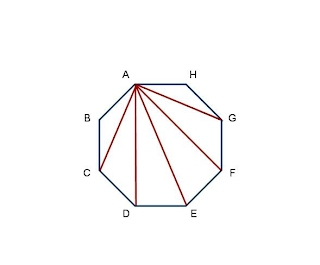 how to draw an 8 sided polygon