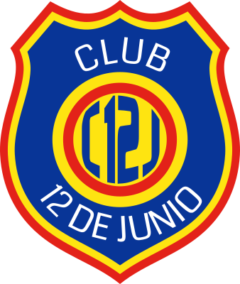 escudo Club 12 de Junio (Colonia Mbarete, General Elizardo Aquino)