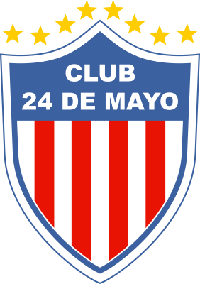 escudo Club 24 de Mayo (General Elizardo Aquino)