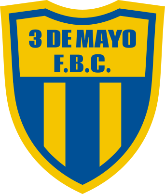 escudo 3 de Mayo Football Club (Nueva Germania)