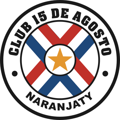 escudo 15 de Agosto Football Club (Naranjaty, Nueva Germania)