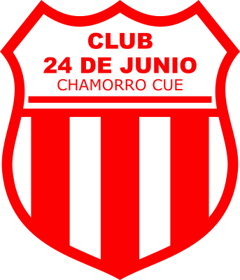 escudo Club 24 de Junio (Chamorro Cué, Nueva Germania)