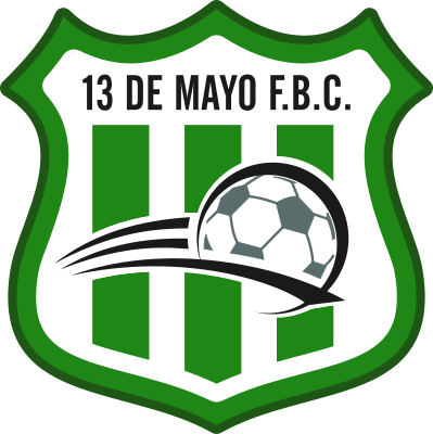 escudo 13 de Mayo Foot-Ball Club (Barrio Fátima, Liberación)
